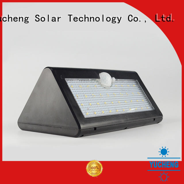 Yucheng solar led lights outdoor wholesale for pathway