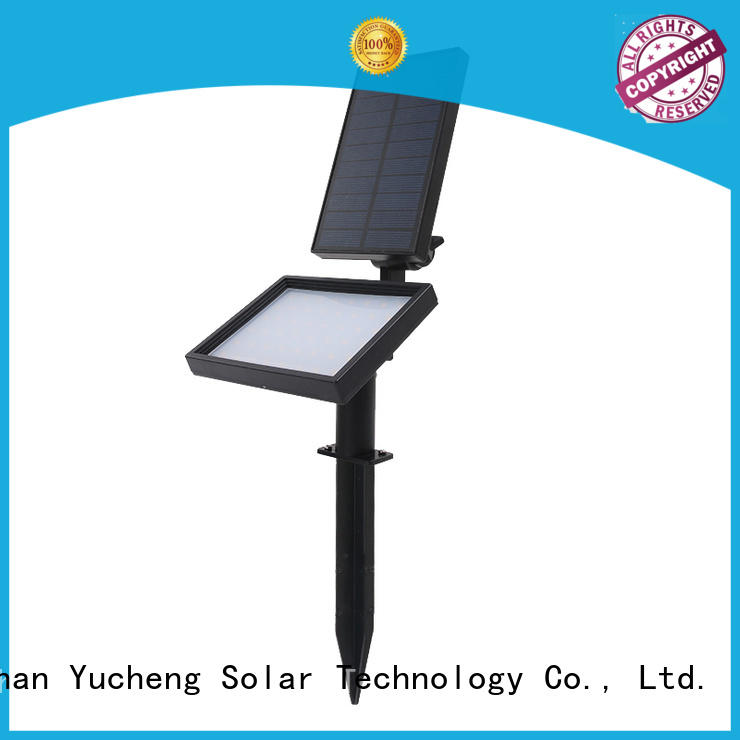 Yucheng solar spotlight wholesale for home
