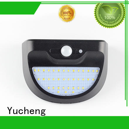 durable solar powered security lights factory direct supply for stair