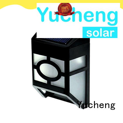 small garden fence solar lights with 12 LEDs for garden Yucheng