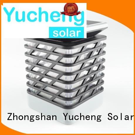 led solar garden lanterns simulation Yucheng company