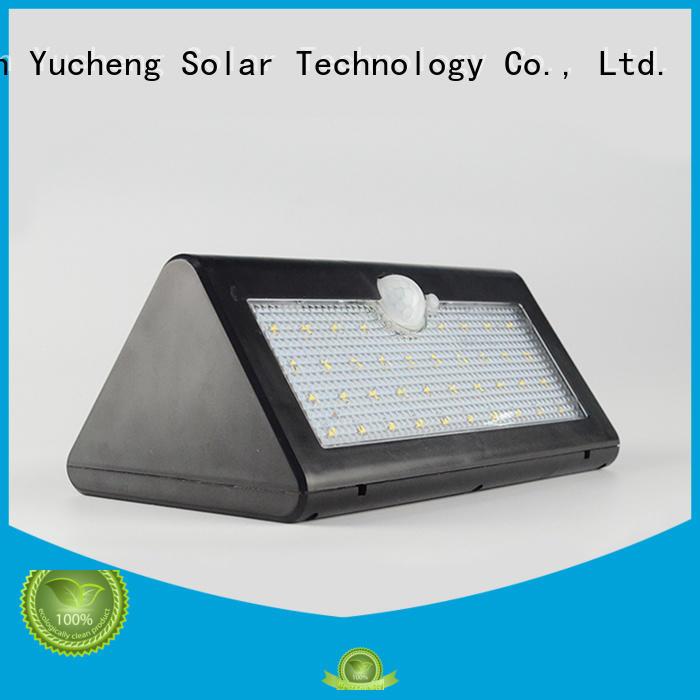 leds lights sensor solar powered sensor light semicircular Yucheng Brand