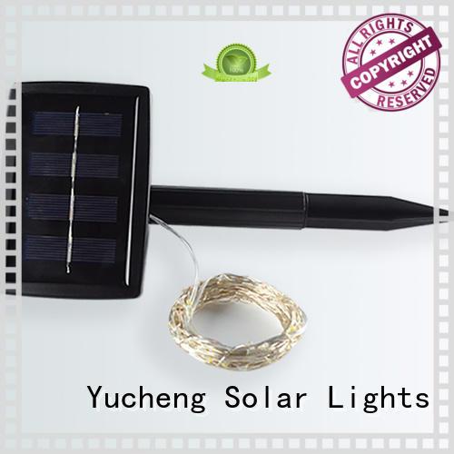 Yucheng solar lights string series for shop windows