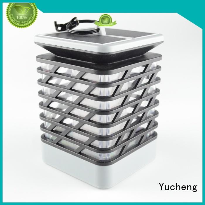 light automatic charging solar flame flickering lamp torch Yucheng Brand