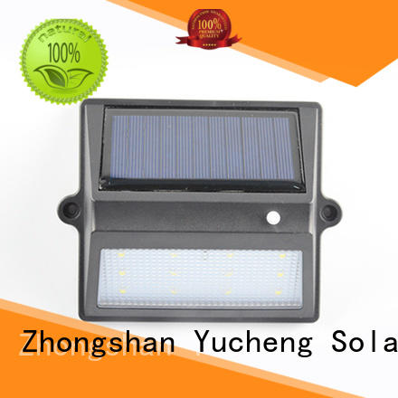 outdoor fence lighting with 12 LEDs for outdoor Yucheng