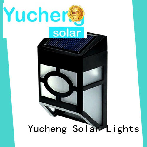 Yucheng waterproof outdoor fence lighting supplier for outdoor