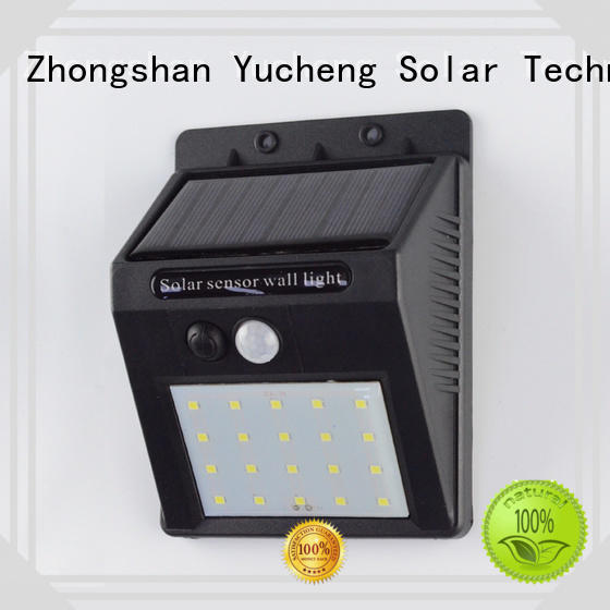 solar powered security lights for pathway Yucheng