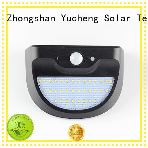 outside solar wall lights with motion sensor lamp solar Yucheng Brand solar powered sensor light