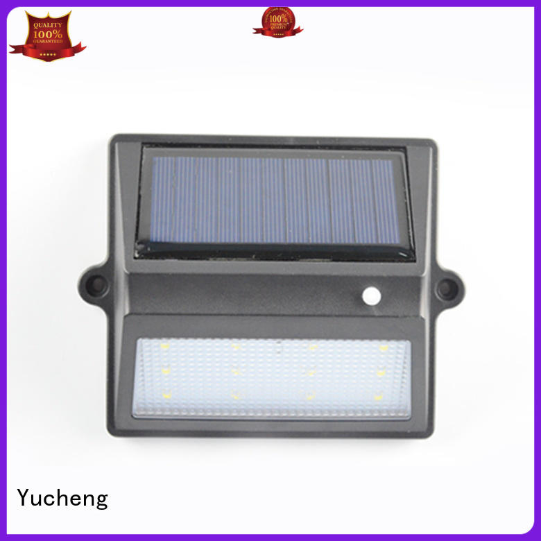 solar garden fence lights manufacturer for outdoor Yucheng