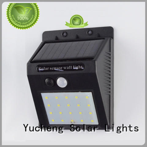 semicircular solar outside wall lights factory direct supply for docks