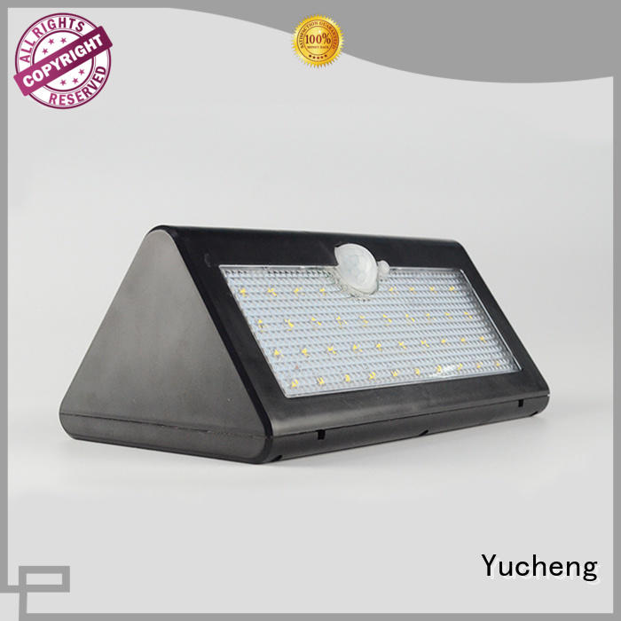 Yucheng waterproof solar led lights outdoor customized for stair