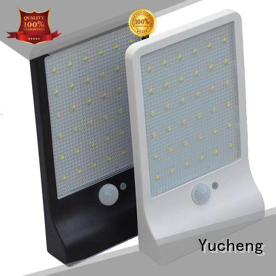 solar sensor wall light ultrathin for docks Yucheng