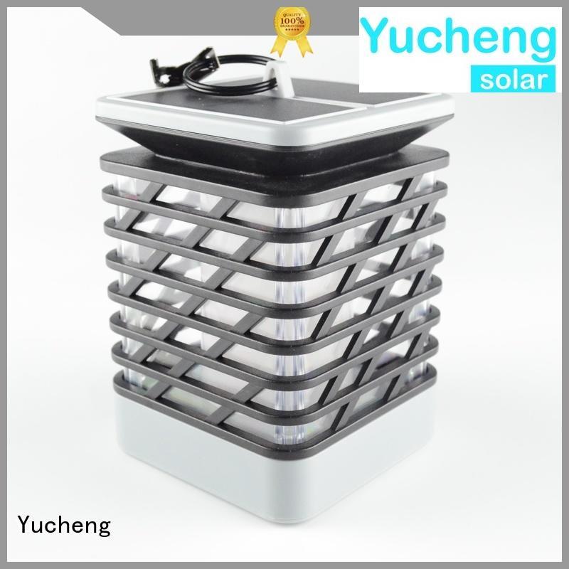 solar flame flickering lamp torch lamp Yucheng Brand solar garden lanterns