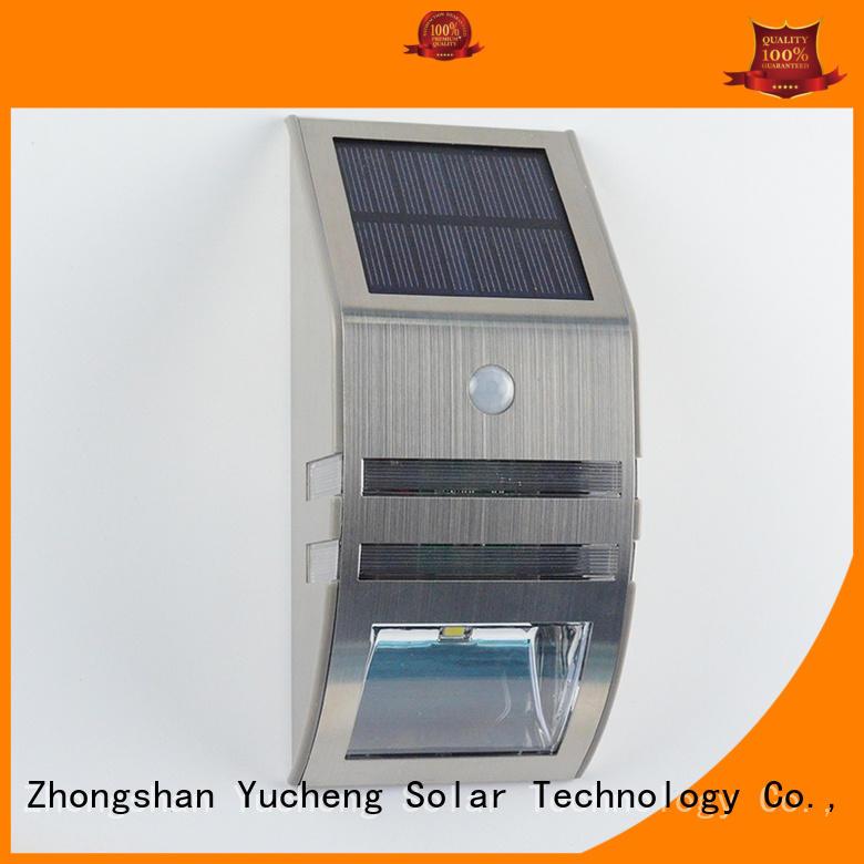sensor solar powered sensor light semicircular Yucheng company