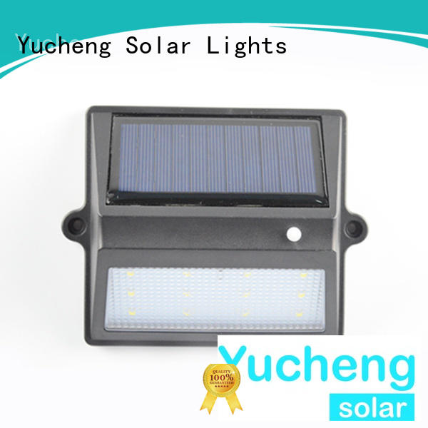 Yucheng solar fence lights supplier for park