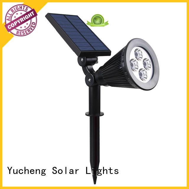 power saving solar spotlight customized for wall