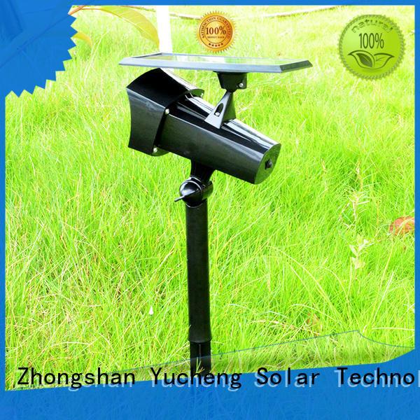 professional solar spotlights wholesale for garden