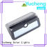Yucheng wireless solar wall mounted motion sensor light factory direct supply for pathway