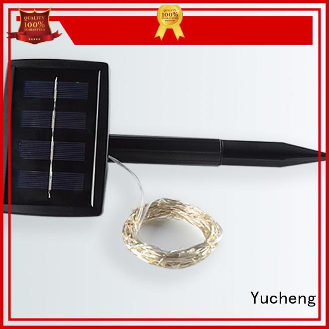standard best Yucheng Brand solar christmas lights