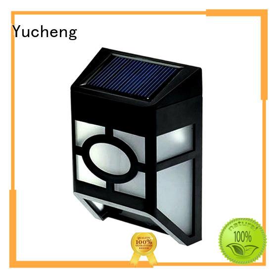 wall roof solar garden fence lights solar Yucheng