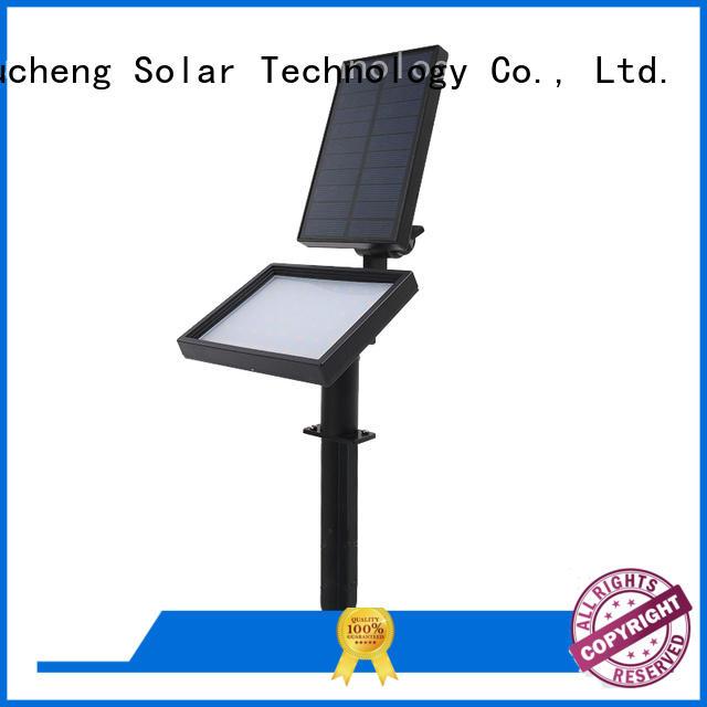 Yucheng Brand powered led custom solar powered outside lights