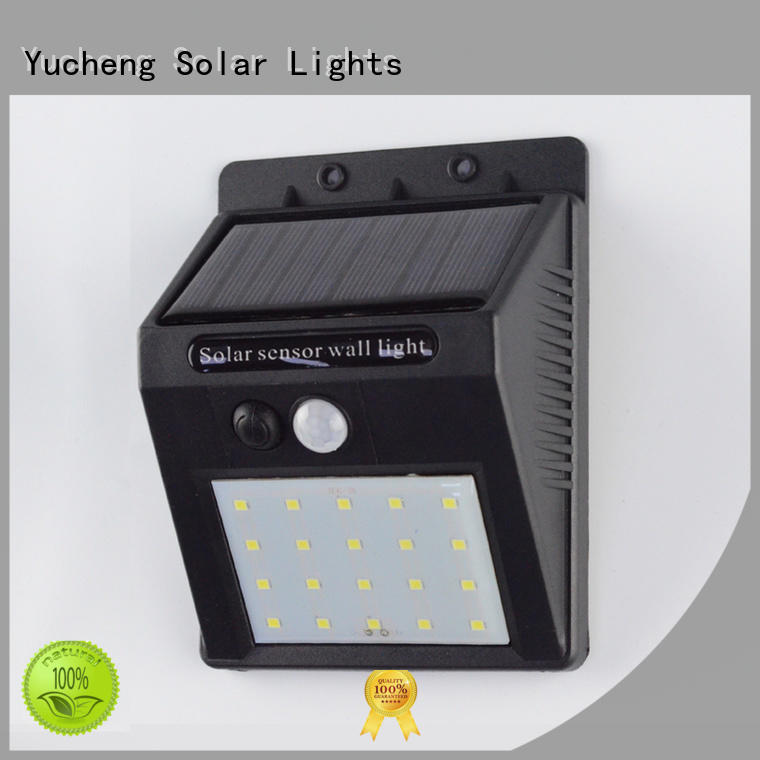 Yucheng solar led lights outdoor supplier for stair