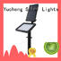 Yucheng professional solar spot lights outdoor dusk to dawn wholesale for home
