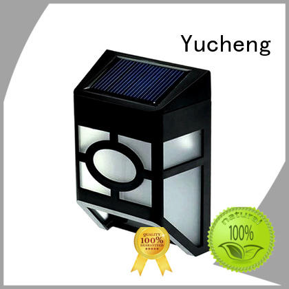 fence lighting solar led factory for home Yucheng