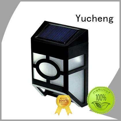 fence lighting solar led factory for home Yucheng