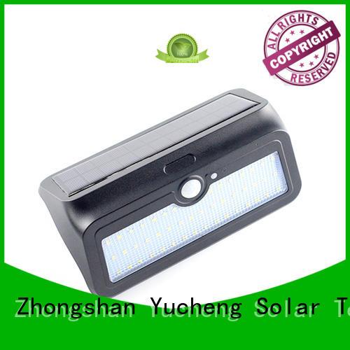 outside solar wall lights with motion sensor motion Bulk Buy item Yucheng