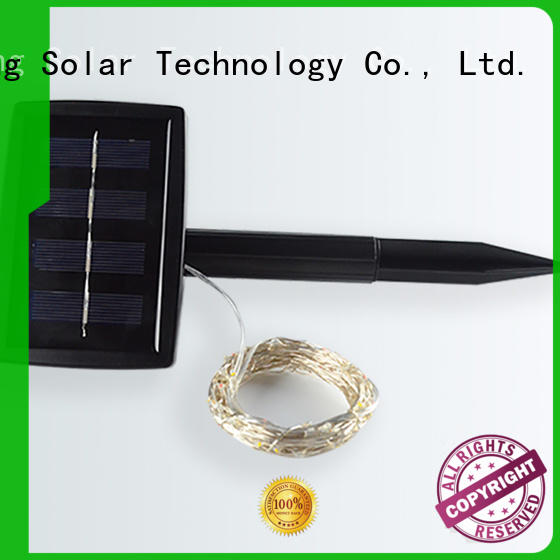 Yucheng copper wire solar string lights series for Christmas