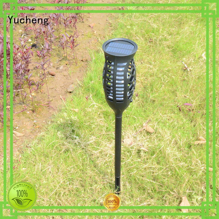 simulate flame solar flame light supplier for home