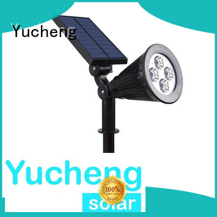 Yucheng solar spotlight directly sale for home