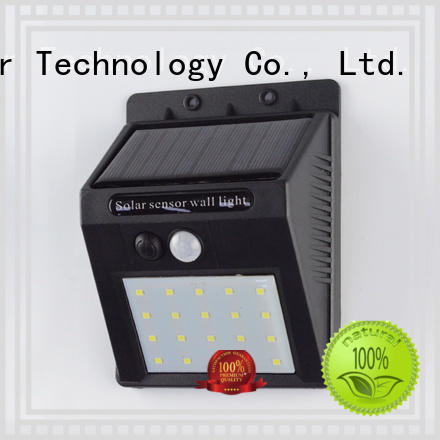 Yucheng stylish solar powered sensor light with 37 LEDs for docks