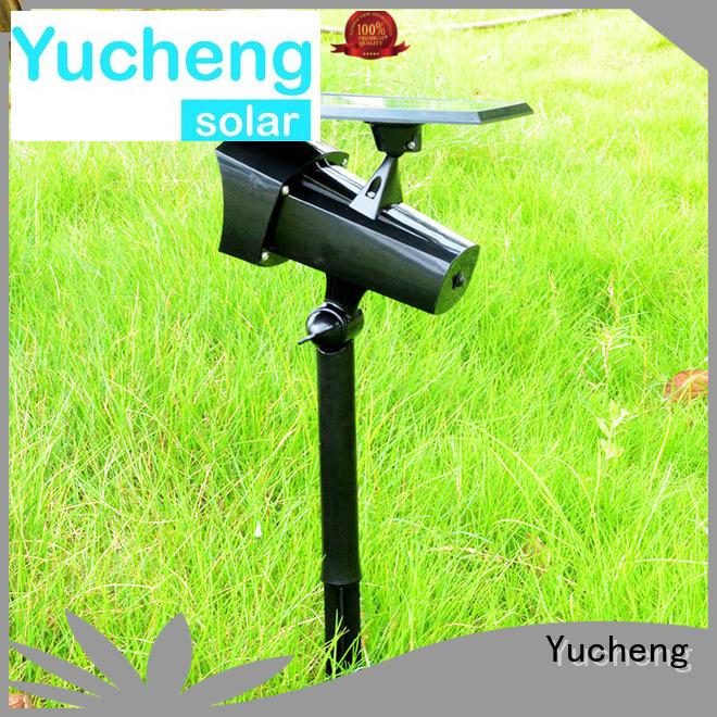 Yucheng Brand degree adjustable panel solar solar led garden lights