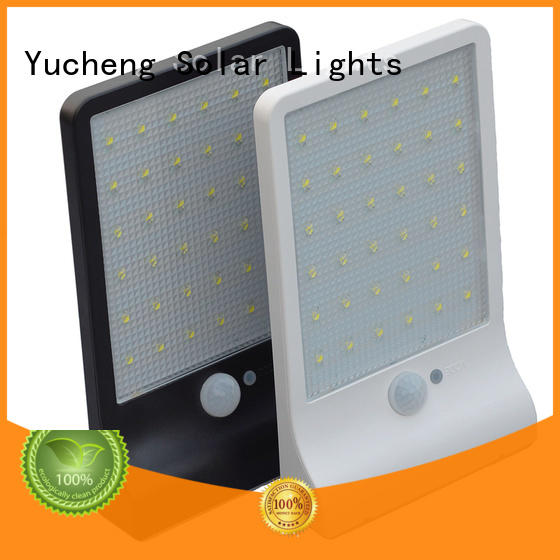 waterproof solar powered sensor light wholesale for stair