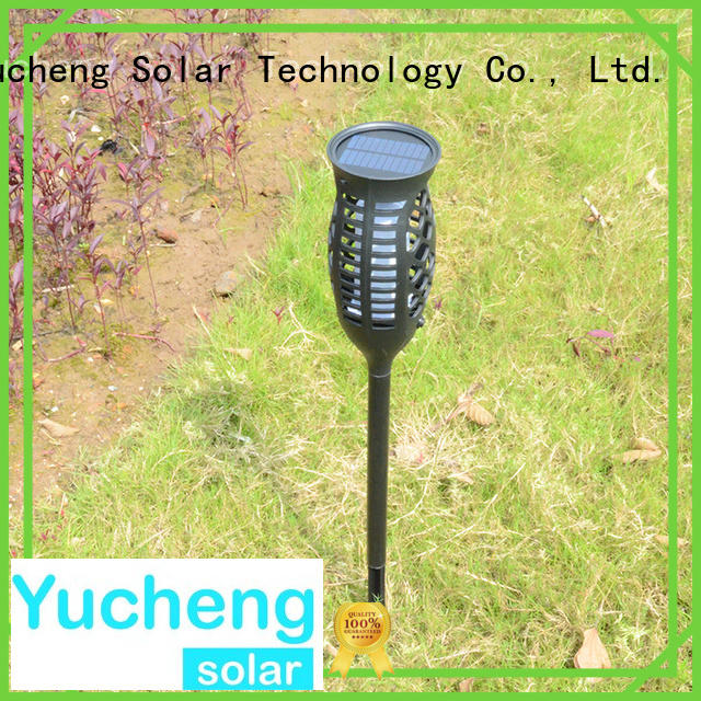 Yucheng Brand automatic mode square solar garden lanterns manufacture