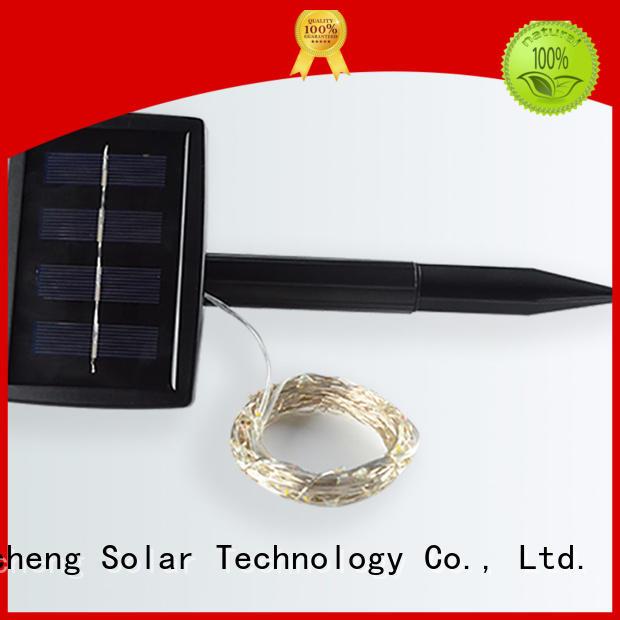 lights best led Yucheng Brand solar christmas lights manufacture