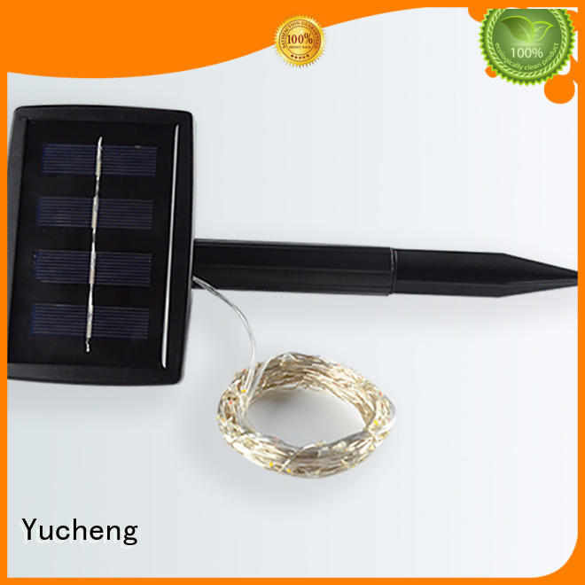 best standard quality Yucheng Brand solar powered christmas lights supplier