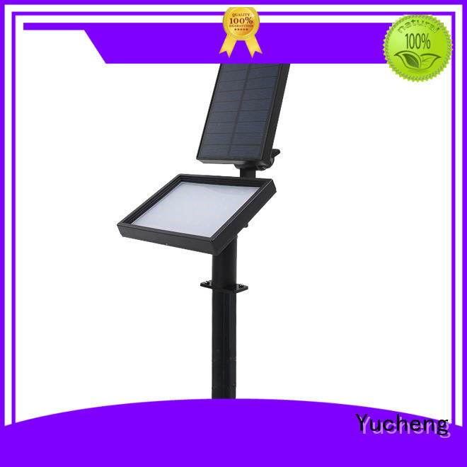 Yucheng Brand spotlight adjustable solar led garden lights manufacture