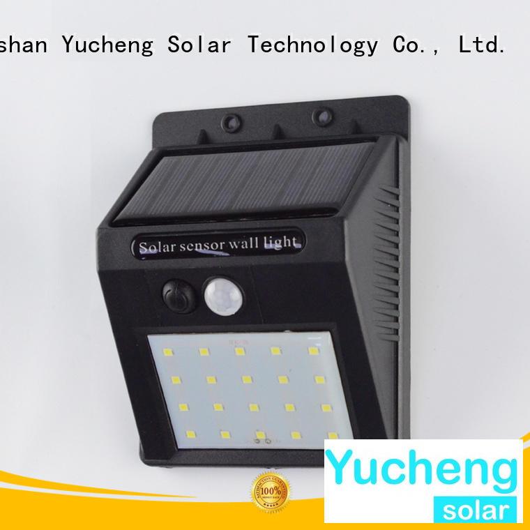 sensor solar Yucheng Brand solar powered sensor light