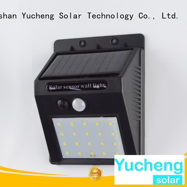 mounting detector exterior sensor outside solar wall lights with motion sensor Yucheng Brand