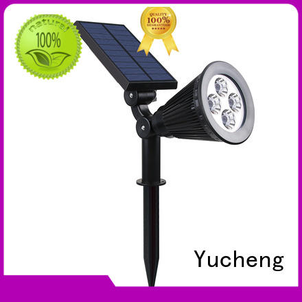 led solar item solar powered outside lights Yucheng manufacture