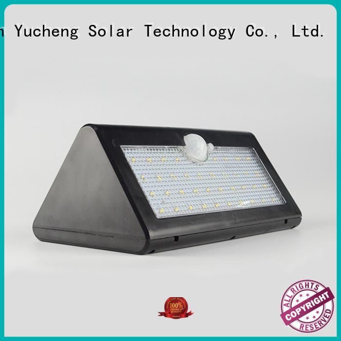 square item lights solar powered sensor light Yucheng Brand