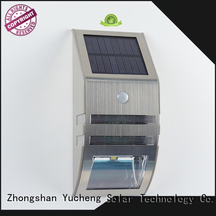Yucheng solar motion sensor light manufacturer for docks