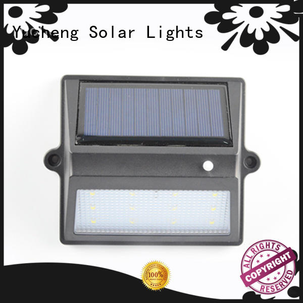Yucheng solar garden fence lights directly sale for home