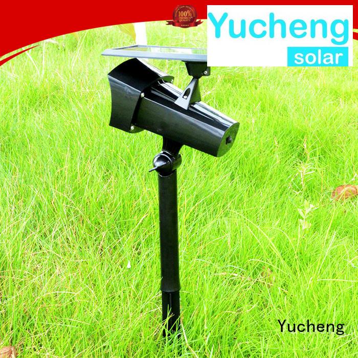 led solar solar powered outside lights item Yucheng company