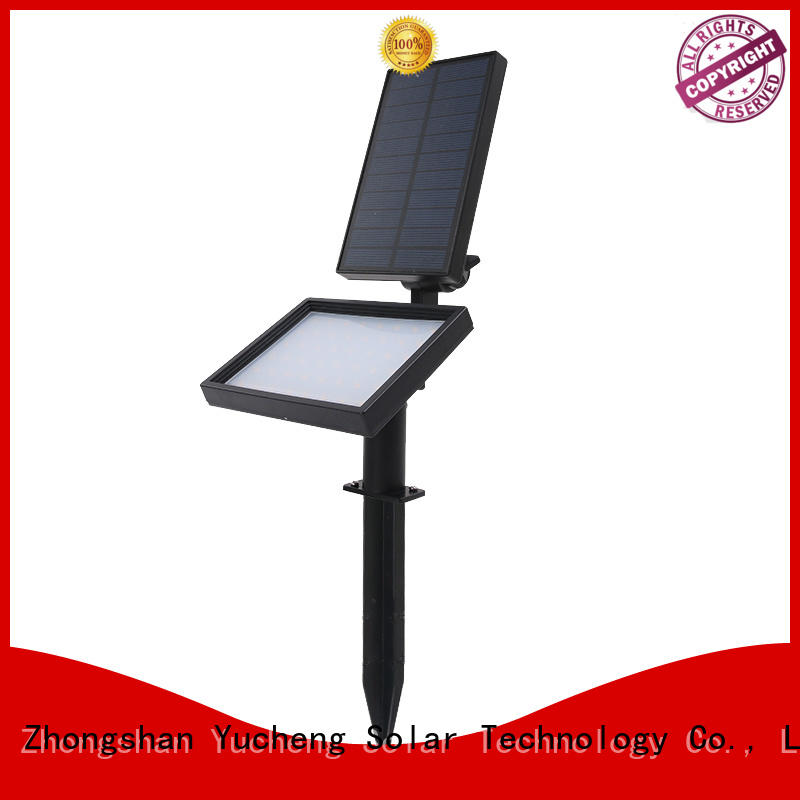 area landscape solar led garden lights adjustment Yucheng
