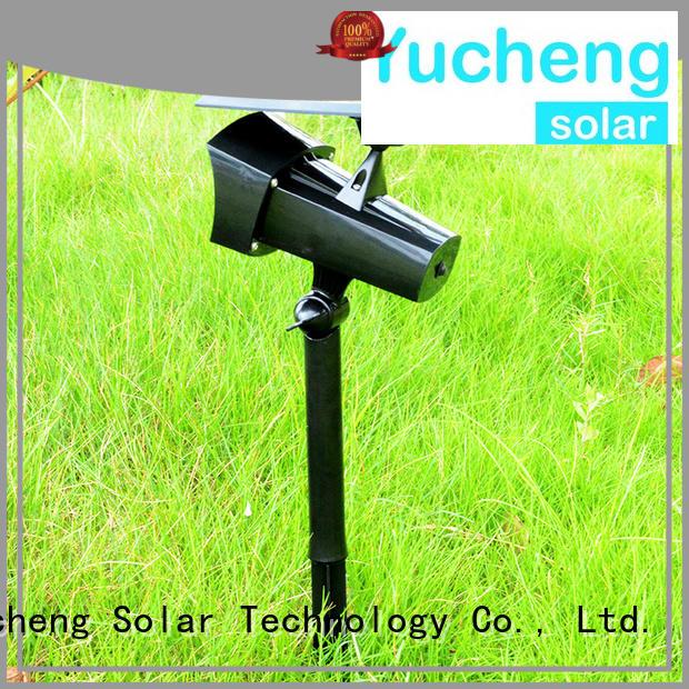 illuminates solar led garden lights panel Yucheng company