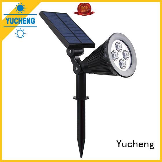 Yucheng solar spotlights series for home